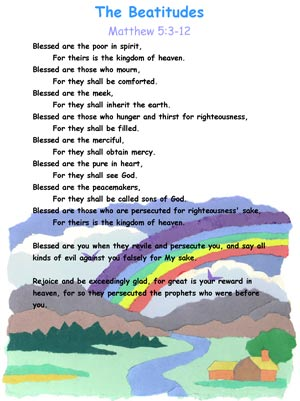 the beatitudes for preschoolers sermon on the mount bible songs and more 470