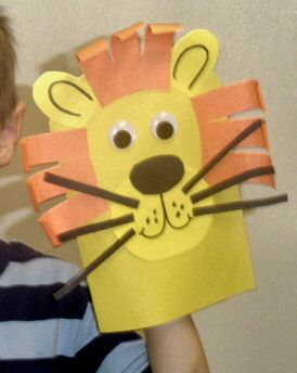 Lion Art Project for Daniel and the Lion's Den