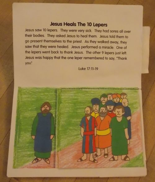 Jesus Heals The 10 Lepers Pdf