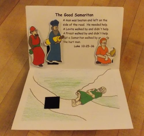 the good samaritan for preschoolers parables of jesus pop up book bible songs and more 348