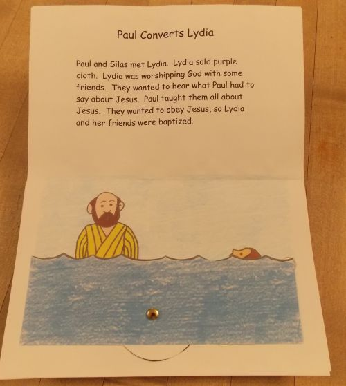 Paul Pop Up Book