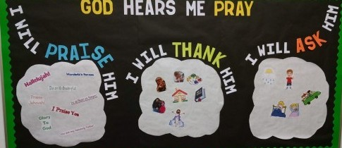 Prayer Bulletin Board